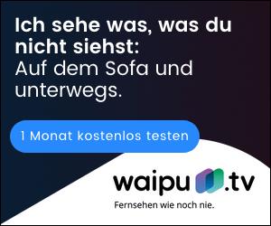 Das Pay-TV-Angebot von Waipu TV
