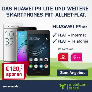 mobilcom-debitel Sommeraktionsangebot im Juli mit dem LTE Datentarif Internet-Flat 3000 im Kombination mit einem Samsung Galaxy Tab in D-Netzqualität